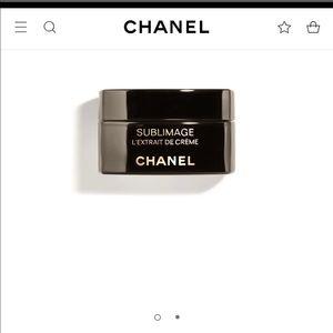 Chanel Sublimage extrait cream